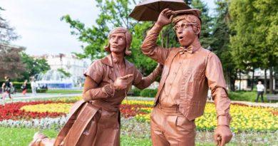 фестивал Живи статуи Русе 2019