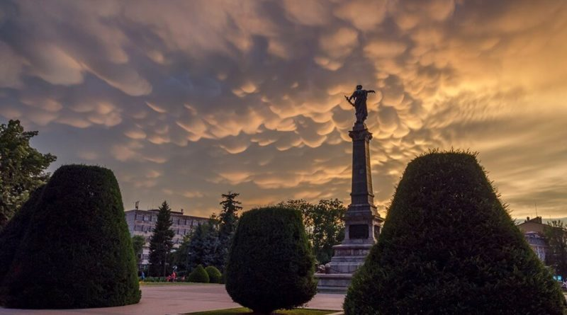 Облаци в Русе