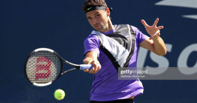 Гргор Димитров US Open 2019