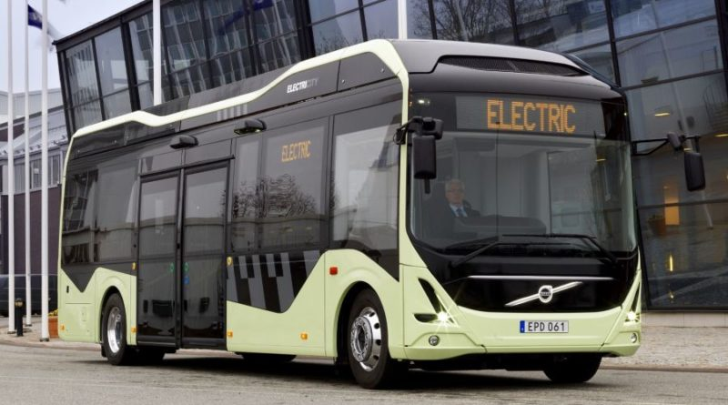 Електирически автобус Русе