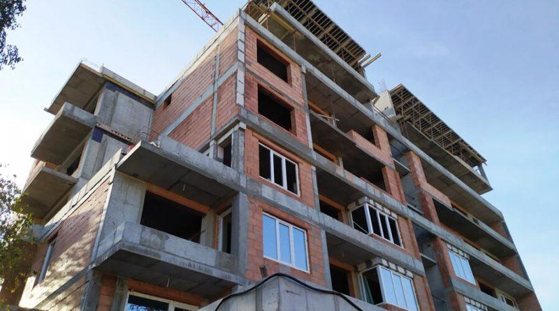 нови сгради Русе