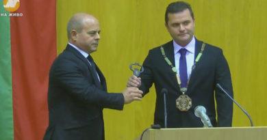 Новия кмет на Русе Пенчо милков встъпи в длъжност