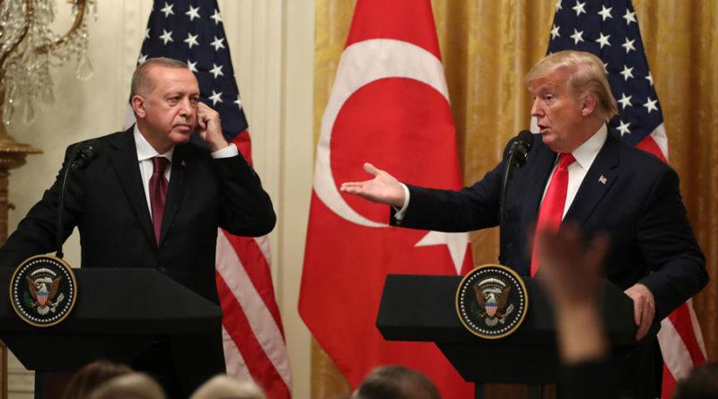 Тръмп Ердоган среща